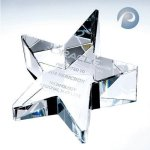 Slant Star Crystal Awards | Crystal Trophies