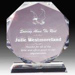 Crystal Multi Faceted Award Crystal Awards | Crystal Trophies